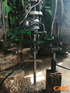 Расточка крепления рамы трактора John Deer 9430