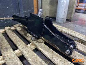 Ремонт управляемого моста вилочного погрузчика TCM FD35T3S
