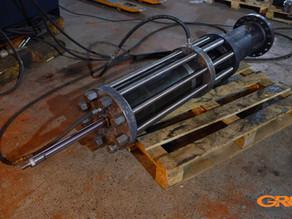 Ремонт цилиндра высокого давления выдувной машины