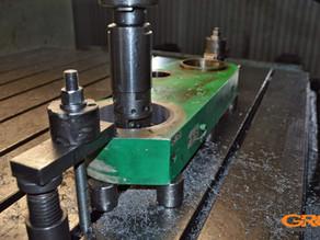 Ремонт рычага коленчато-рычажного механизма ТПА