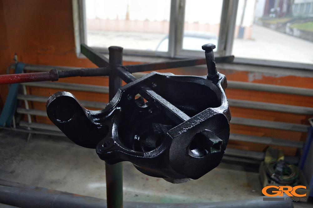 Ремонт планетарного моста и поворотного кулака Bobcat T3093S