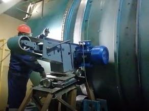 Шлифовка блендера с вращающимся барабаном Coil manufacturing