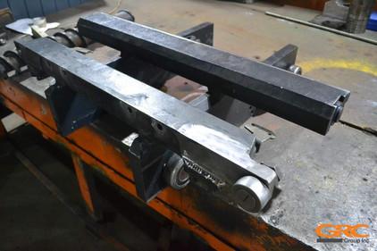 фрезеруем плоскости рамы в заводской размер