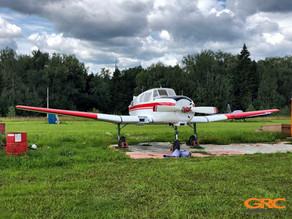 Ремонт звеньев шлиц-шарниров самолета Як-18Т