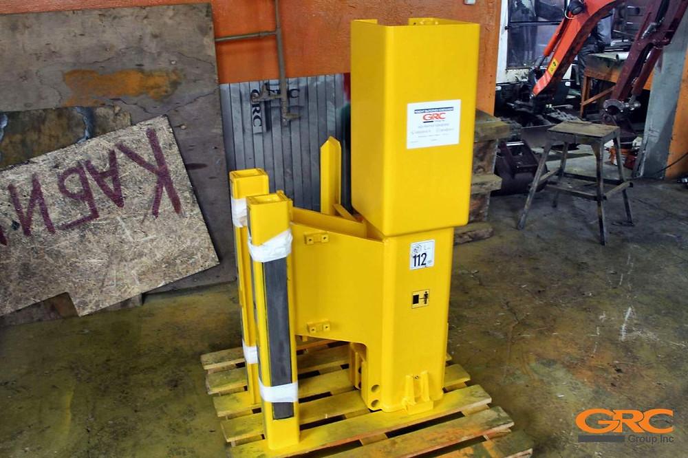 корпус молота сваебойная установка ORTECO HD 1000 J после ремонта