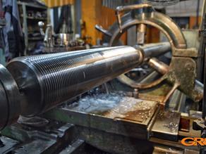 Производство колонн для термопластавтомата