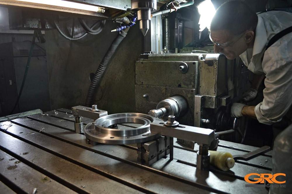 изготавливаем новые комплектующие ротора