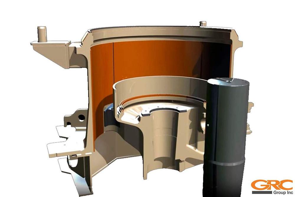 Конусная дробилка METSO HP-6