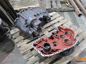 Ремонт коробки передач погрузчика New Holland B115LB