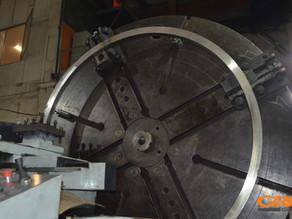 Лоботокарная обработка фланцев для изготовления диссольвера