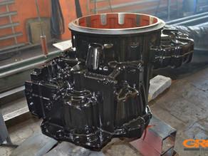 Восстановление корпуса КПП фронтального погрузчика KOMATSU WA380