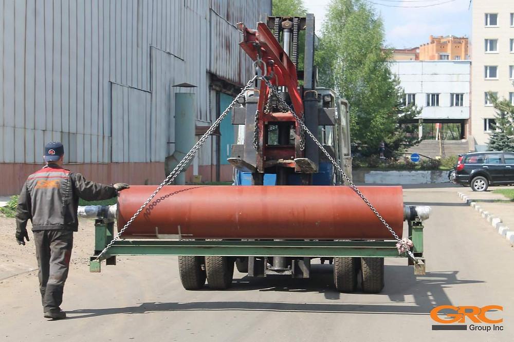 Ремонт посадочных мест сеткоповоротного вала БДМ выполнен компанией GRC в Московской области