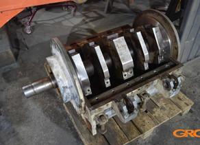 Ремонт дробилки переработки полиэстирола SLS-1550M
