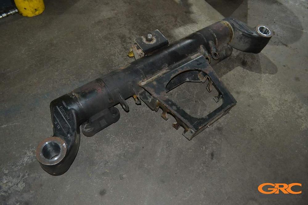 Проушины балок полуприцепа Saf Holland GmbH после ремонта
