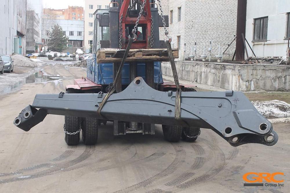 Стрела форвардера Ponsse K100+ до ремонта