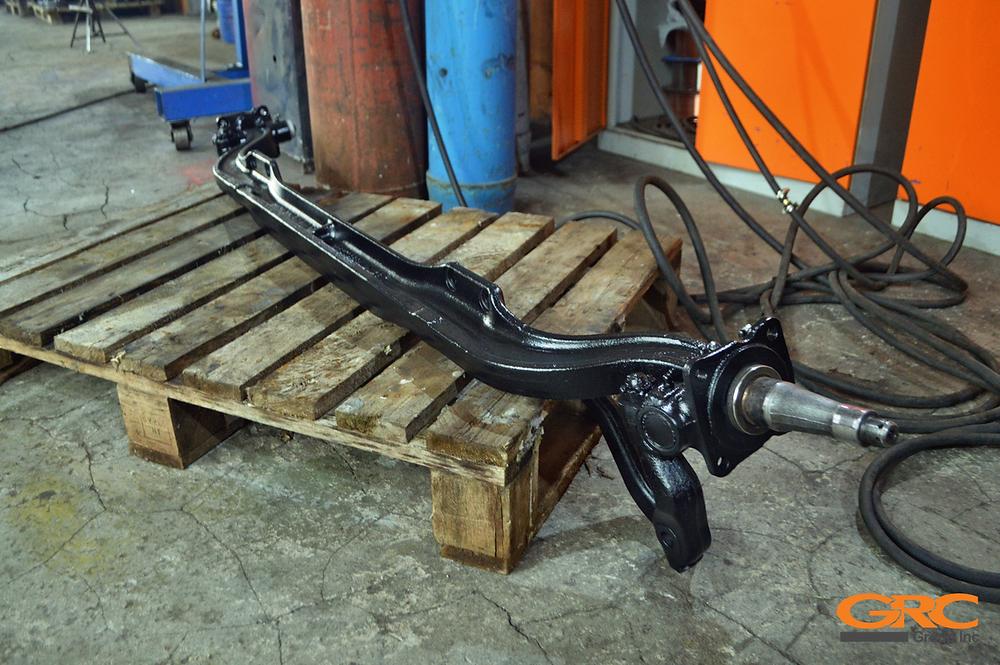 Ремонт балки передней оси с кулаками Mitsubishi Fuso Canter