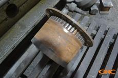 Проточка наружного диаметра кожуха ступицы