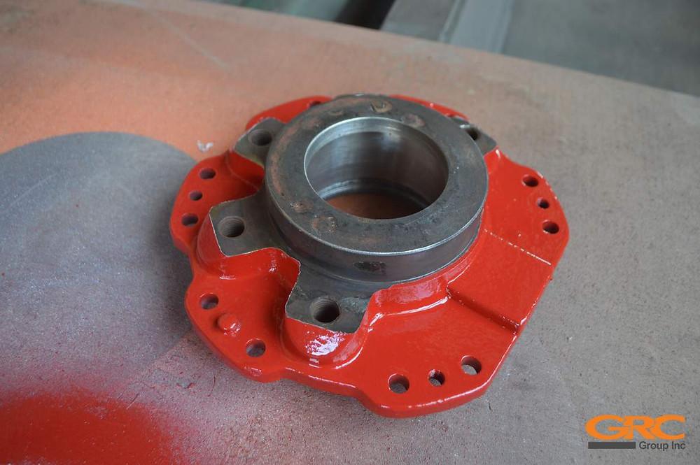 Редуктор поворота манипулятора после ремонта
