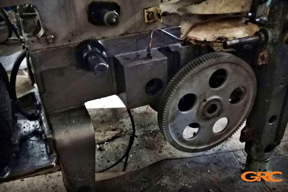 Ремонт фасовочной машины (Восстановление отверстия мобильно-расточным станком)