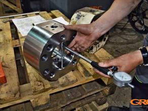 Изготовление направляющего клапана и пальца по образцу