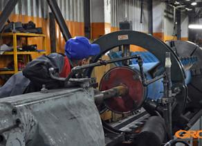 Ремонт центрифуги полимеров