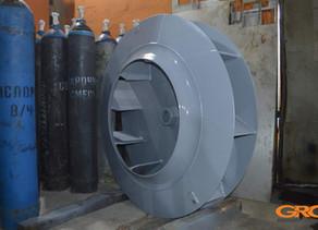 Замена лопастей рабочего колеса радиального вентилятора RGE 063-080015-00