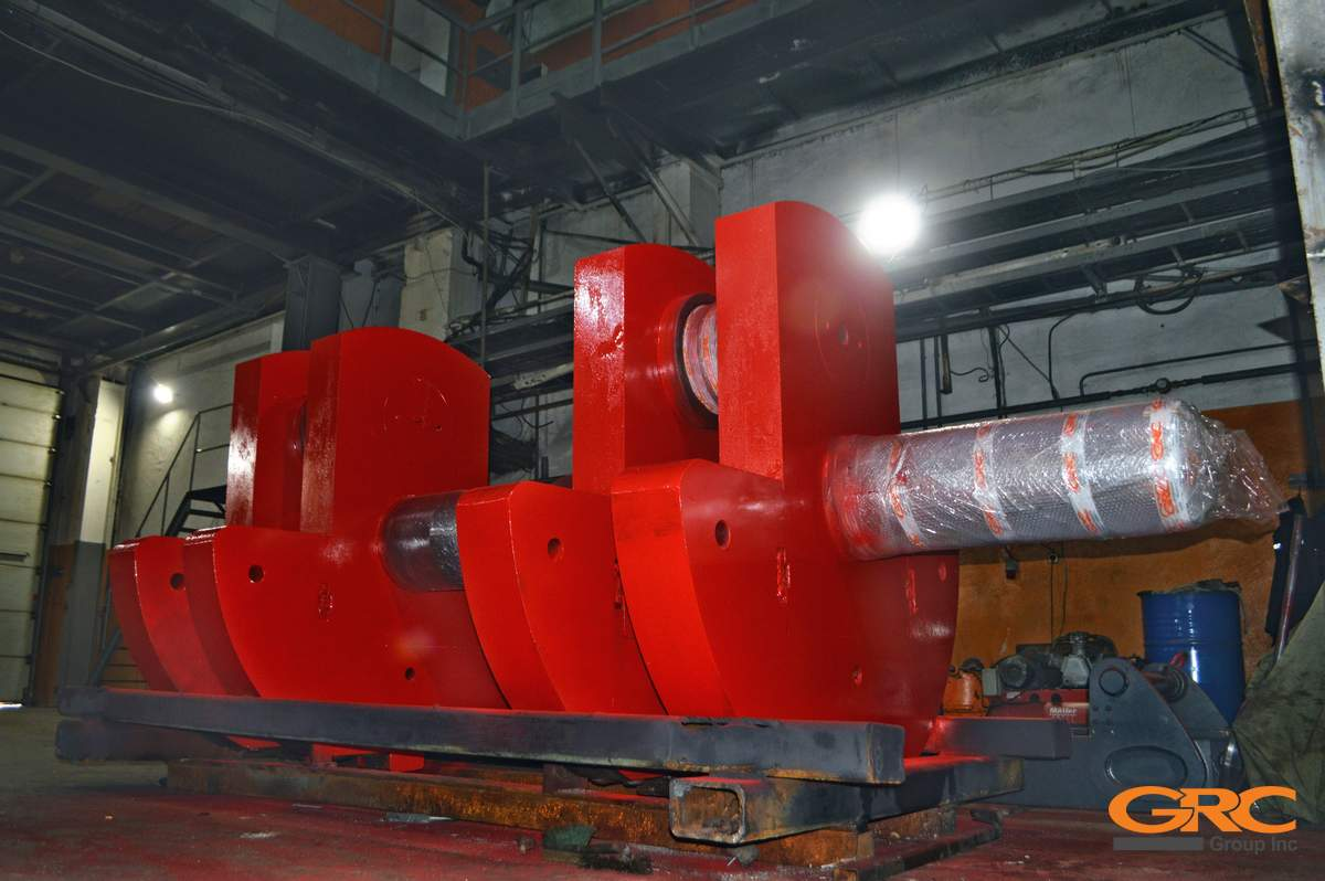 Коленчатый вал стана ХТП-250 трубопрокатного цеха №5  после ремонта