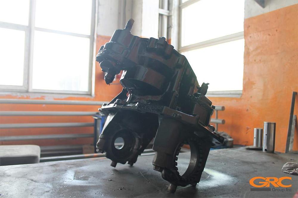 редуктор заднего моста грузового автомобиля SCANIA после ремонта