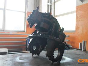 Ремонт редуктора заднего моста грузового автомобиля SCANIA