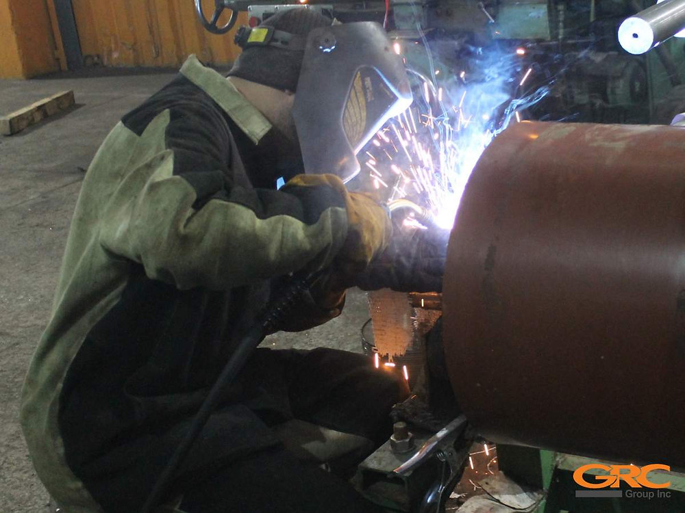 Ремонт вала наплавкой (восстановление валов наплавкой) в компании GRC