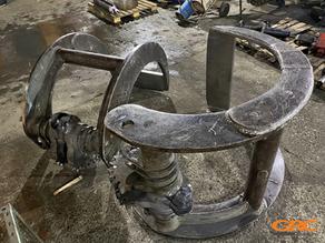 Восстановление грейфера (ремонт креплений)