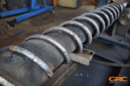 Ремонт шнековой пары экструдера (для полиэтилена)