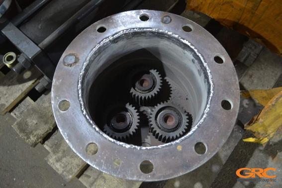 Наплавка внутреннего диаметра корпуса ступицы