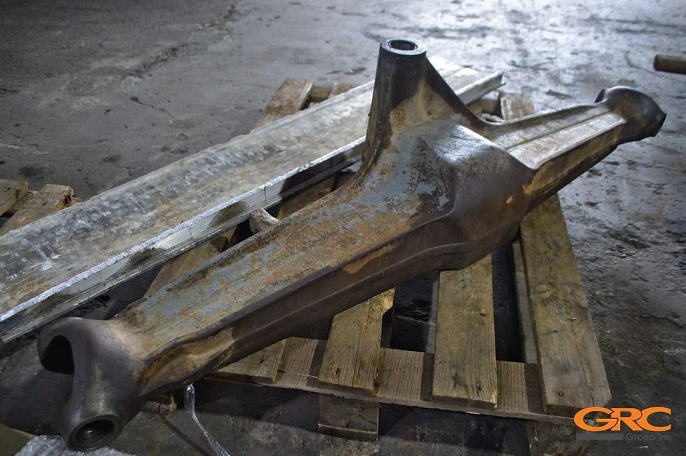 Ремонт переднего моста экскаватора-погрузчика VOLVO BL 61