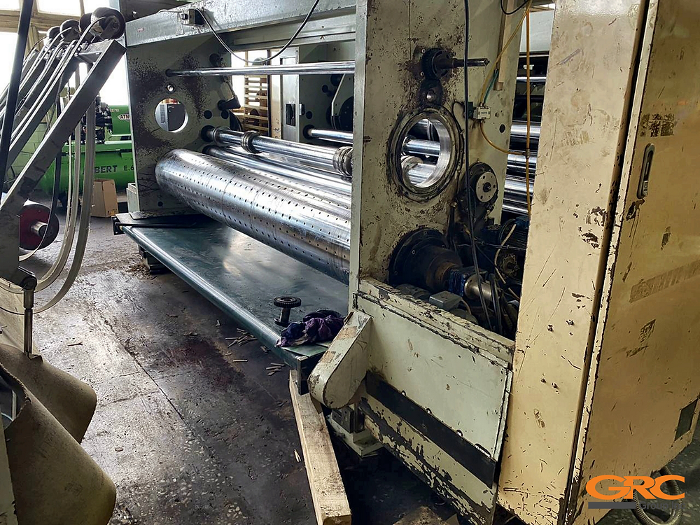 Цилиндрическая расточка станины печатно-высекательной машины