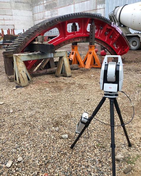 Проверка качества выполненной работы при помощи высокоточного геодезического контроля