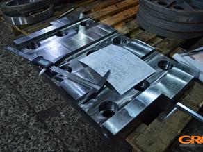 Изготовление футеровки для пресс-ножниц Vezzani