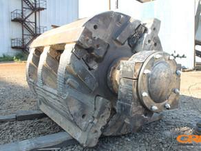 Восстановление ротора дробильно-сортировочной установки KLEEMANN