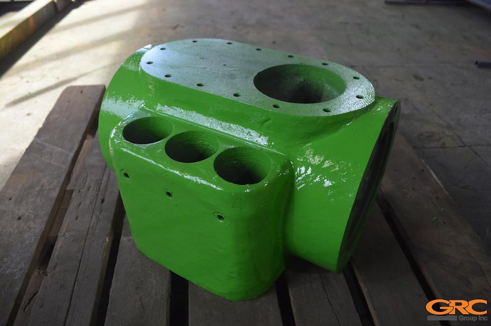 Корпус клапана гидравлического пресса после ремонта