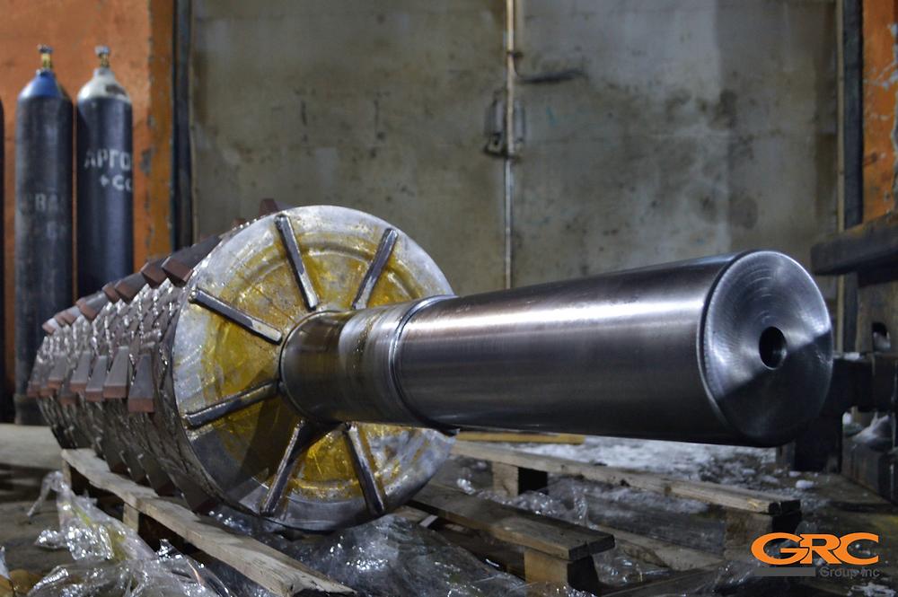Ремонт ротора наплавкой