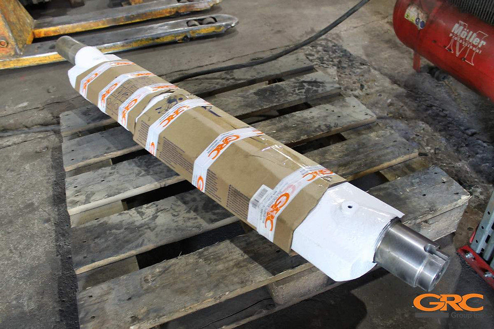 Восстановленный вал дробилки Metso minerals lt 125