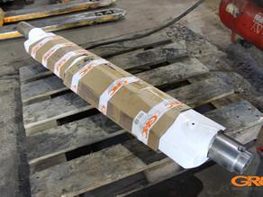 Восстановление вала дробилки Metso minerals lt 125
