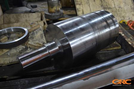 Выполняем предварительную механическую (токарную) обработку заготовки
