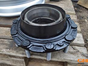Ремонт ступицы грузового автомобиля Scania