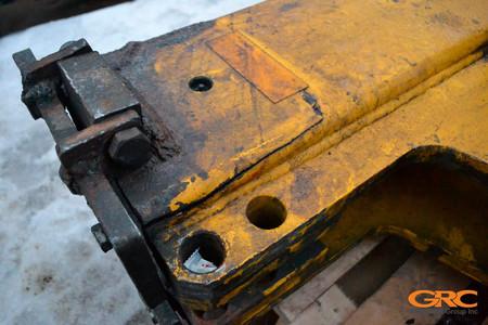 Механические разрывы каркаса молота