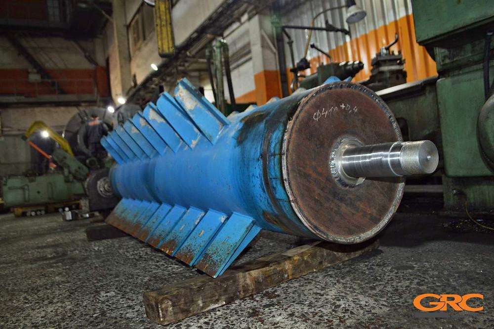 Ротор центрифуги полимеров после ремонта