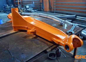 Ремонт корпуса переднего моста экскаватора-погрузчика Case 580 СМ (405932)