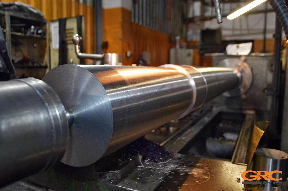 изготавливаем новый вал ротора