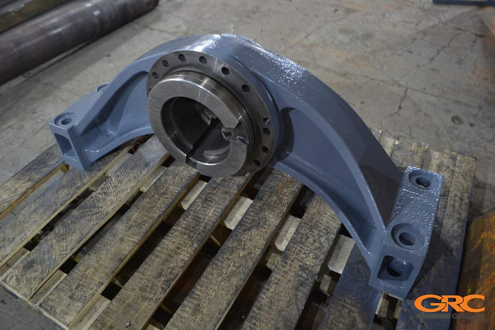 Балансир фронтального погрузчика Hitachi ZW310 после ремонта