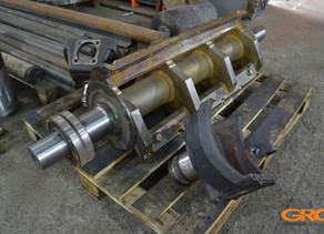 Ремонт ротора дробилки RAPID 4590